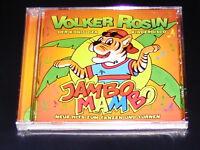 VOLKER ROSIN JAMBO MAMBO NEUE HITS ZUM TANZEN UND TURNEN CD NEU & OVP