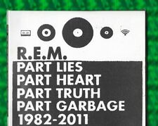 R.E.M.-PART LIES PART HEART PART TRUTH PART GARBAGE 1982-2011 2xCD ALBUM(2011)