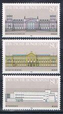 1287-1289 ** Einzelmarken  Block 20, BRD 1986