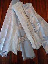 Vintage Silk Scarf Lot in Aquas and Blues