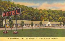 Triangle Motel, Clifton Forge, Va., U. S. Hwys 60 & 62