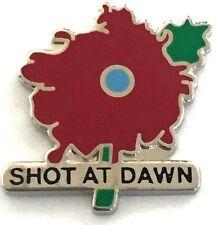 POPPY SHOT AT DAWN PIN BADGE