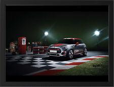 "MINI JOHN COOPER WORKS CONCEPT A3 FRAMED PHOTOGRAPHIC PRINT 15.7'x11.8"""