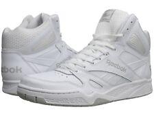 c492b4434361a8 Reebok Royal BB4500 Hi X-Wide 4E Sneakers Sizes 7.5 thru 12 White Steel