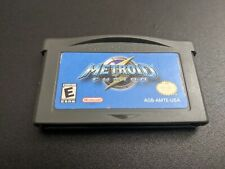 Metroid Fusion Nintendo Game Boy Advance EXMT authentic game cartridge
