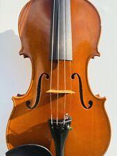 Fine Italian Labeled Violin Filippo Zanisi 1977 N.69 Signed on Label