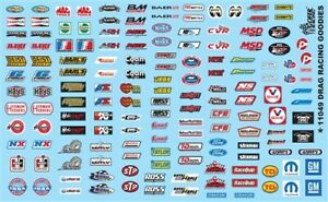 GOFER RACING DRAG RACING GOODIES DECALS FOR 1:24 AND 1:25 SCALE MODEL CARS
