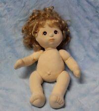 Mattel My Child Doll Blonde curly hair brown eyes