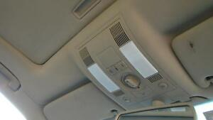 AUDI A8 FRONT TAN COURTESY LIGHT HAS SUNROOF SWITCH, D3, 09/03-08/10