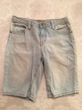Justice, Denim Shorts, Size 14 Reg, Girls