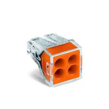 Wago 773-104 4-Way Push Conector de Cable-Paquete de 100