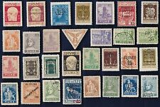 30 All Different FIUME Stamps