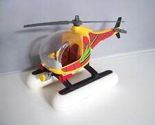 PLAYMOBIL (X421) FORET - Hélicoptère sur Flotteurs 3220