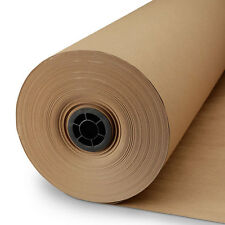 """Roll of Kraft Paper / Brown Paper (48"""" wide X 800"""") Made in USA"""