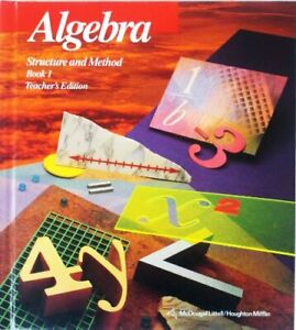 Algebra Structure and Method Book 1 by Brown