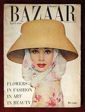 Harper's Bazaar ~ April 1956 ~ Audrey Hepburn by Richard Avedon