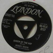 "Bobby Darin(7"" Vinyl 1958 1st Issue)Queen Of The Hoop-London-HLE 8737-UK-Ex/VG+"