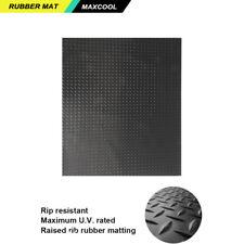 Rubber Checker Plate Flooring/Mat/Matting W1200MM * L1000MM