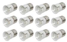 12 x Lamp Bulb Socket Converters Bayonet To Screw Adapters light bulbs B22 E27