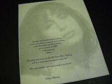 SELENA softly imaged IN MEMORY OF Promo Advert ...sweet melodies eternally...