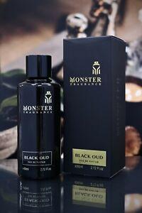 Black Oud Monster 80ml Unisex EDP Fragrance  Long-Lasting Spray Paris Corner