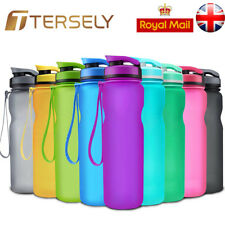 BPA Free Leakproof Outdoor Sports Fitness & Gym Water Bottle Filter Wide Mouth