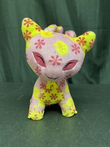 2003 Thinkway Neopets Interactive Talking Aisha Plush Lights Up Voice Activated