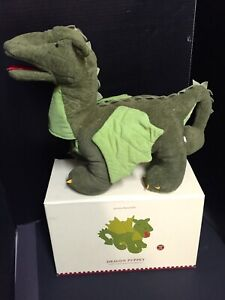 Pottery Barn Kids DRAGON PUPPET Castle Mediaeval Game Thrones Easter Basket NEW