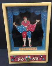 VINTAGE 1970's DANCING Love Dancing Clown MUSICAL JEWEL BOX  RARE Works!