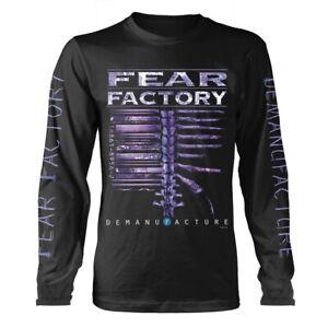Fear Factory 'Demanufacture' Long Sleeve T shirt - NEW