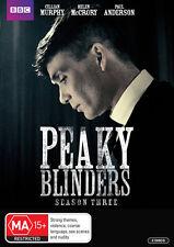 Peaky Blinders: Season 3  - DVD - NEW Region 4