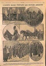 Imperial Russia Army Nicholas II General Aleksey Kuropatkin & Evert  WWI 1916