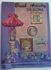 "Vintage How to  ""Brush Artistry Deigns"" Craft Magazine 1967"