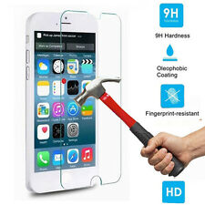 For Apple iPhone 4 4S 100% Genuine Tempered Glass Cover Film Screen Protector
