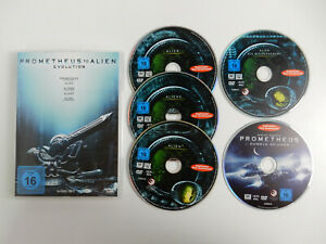 Prometheus to Alien Evolution auf 5 DVD ´s -  Ridley Scott - Top Zustand !