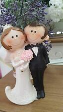 Cute Bride&Groom Couple Wedding Cake Topper Figurine Cake Topper Wedding New