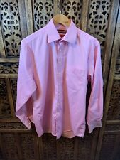 Stephens Brothers Pink Cotton Shirt 15.5 In (B3)