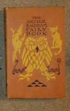 Arthur Rackham Fairy Book 3rd Ed 1942 8 Colour Plates