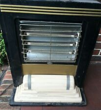 Belling Art Deco 1920's Odeon style electric fire with light-up base