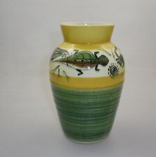 STUDIO ANNA VASE DECORATED WITH AN INDIGENOUS DESIGN
