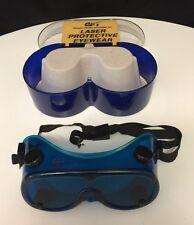 Vintage Glendale (GPT) Laser LGS Krypton Lasergard Safety Goggles With Box  1992