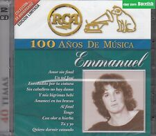Emmanuel 100 Anos de Musica 2CD New Nuevo sealed