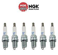 6 X New NGK Laser Platinum Resistor Pre-Gapped Spark Plugs PFR6Q/6458
