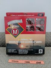 Farmall case ih cih Tractor m nf Light set new party tree htf collectible nice