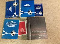 1996 Ford Mustang Gt Cobra Service Shop Manual Set OEM FACTORY W PCED + EWD LOTS
