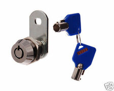 TUBULAR STYLE CAM LOCK - SECURITY  - FOR TOOL BOX , FILING CABINET , DESK DRAWER