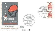 Germany 1974 FDC 698 CD Zusammendrucke