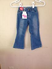 New NWT Cool Island Denim Jeans Adjustable Waistband 4T 4 Girls
