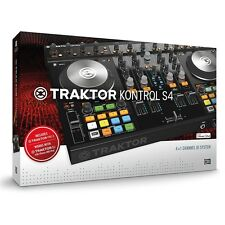 Native Instruments Traktor Kontrol S4 MKII DJ Controller NEW Traktor 2 MK2