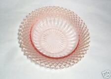 PINK DEPRESSION GLASS CEREAL BOWL MISS AMERICA HOCKING